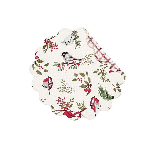 SPRIG BIRD QUILTED PLACEMAT