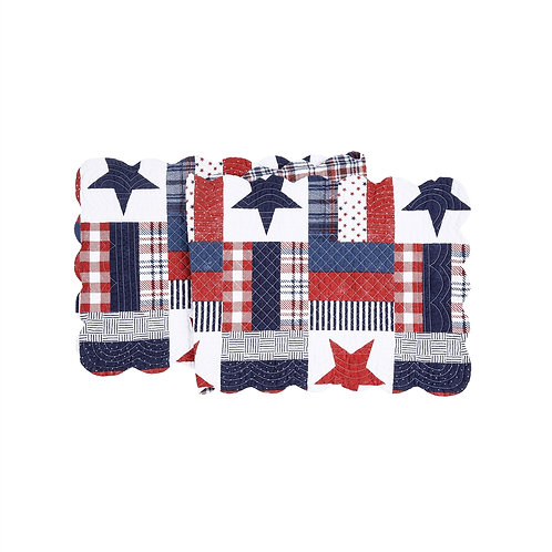 BENJI QUILTED TABLE RUNNER