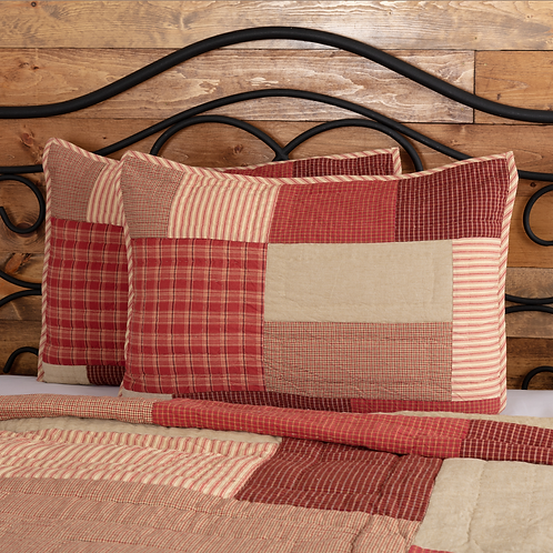 RORY SCHOOLHOUSE QUILTED SHAM