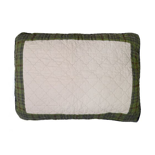 GREY'S POINT QUILTED SHAM