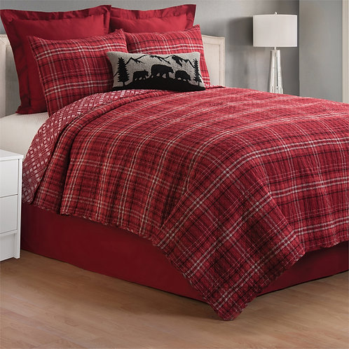 ANDREW RED QUILT SET