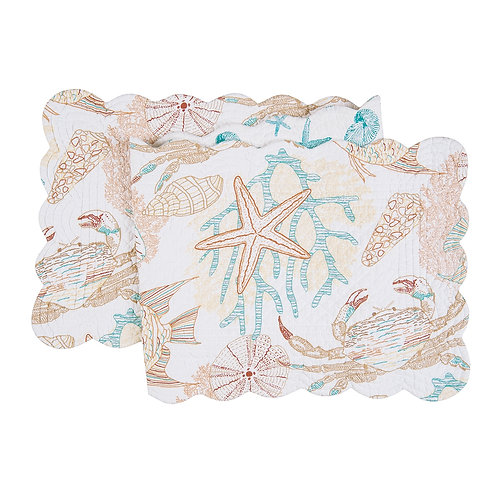 KEY BISCAYNE QUILTED TABLE RUNNER