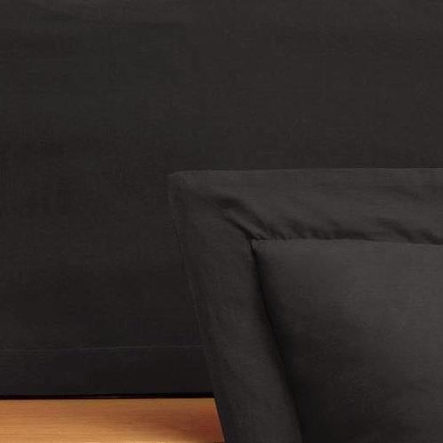 JUST BLACK TAILORED BEDSKIRT