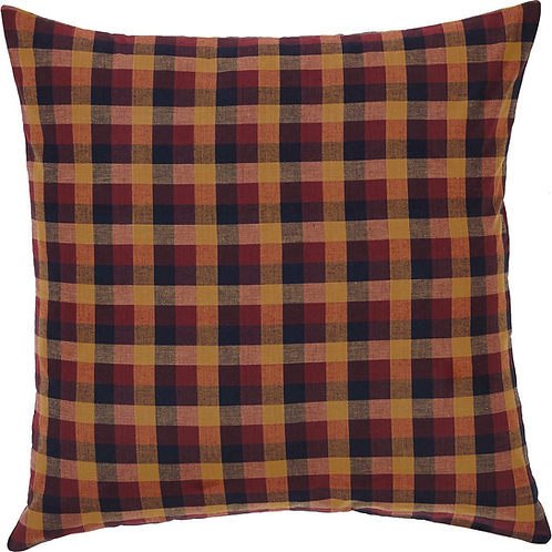 HERITAGE FARMS PRIMITIVE CHECK FABRIC EURO SHAM