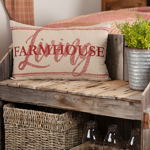 SAWYER MILL RED FARMHOUSE LIVING