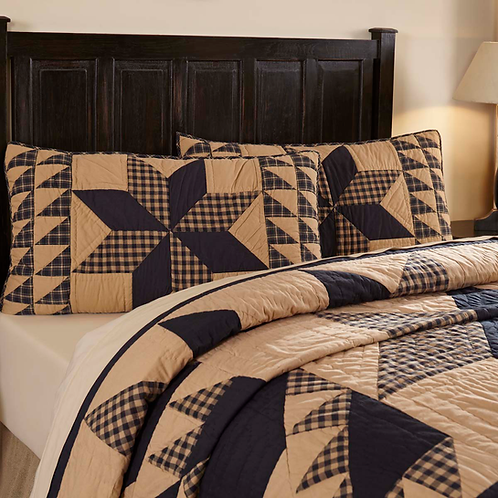 DAKOTA STAR QUILTED SHAM