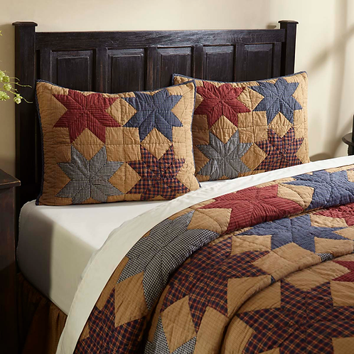 KINDRED STAR QUILTED SHAM