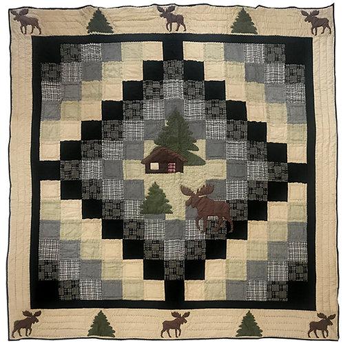 Moose Cabin Quilt Set