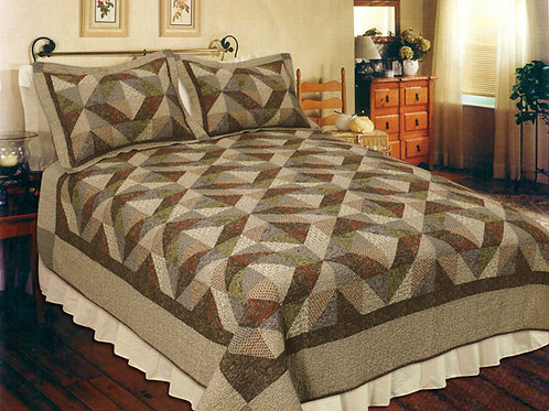 COUNTRY COTTAGE QUILT SET