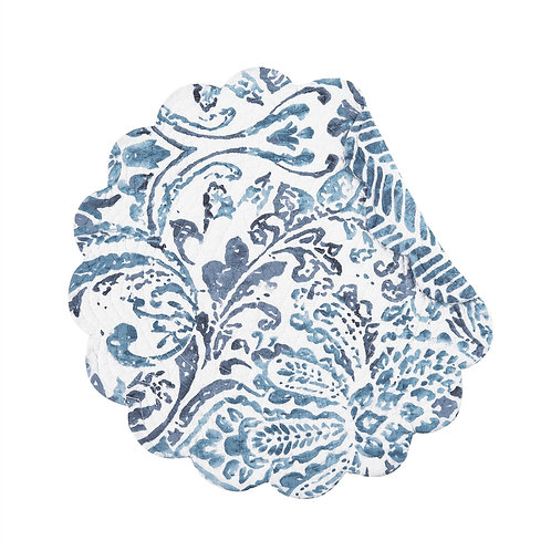 NATALIA DAMASK QUILTED PLACEMAT
