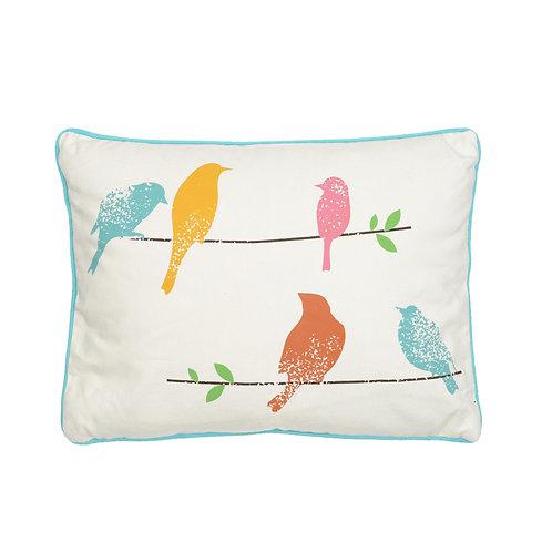 ASHBURY SPRING BIRDS PILLOW