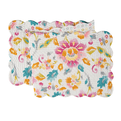 SASHA QUILTED TABLE RUNNER