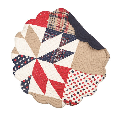LEVI QUILTED PLACEMAT