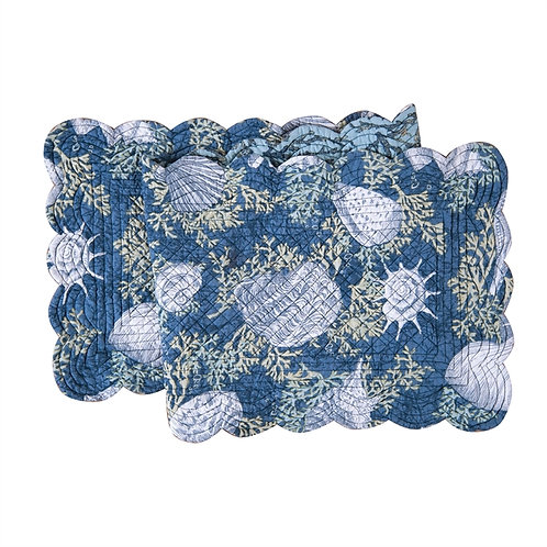 CAPE CORAL QUILTED TABLE RUNNER