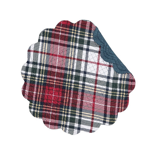 LENNOX PLAID QUILTED PLACEMAT