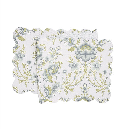 OPAL SKY QUILTED TABLE RUNNER