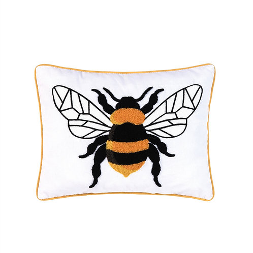 TUFTED BUMBLE BEE PILLOW