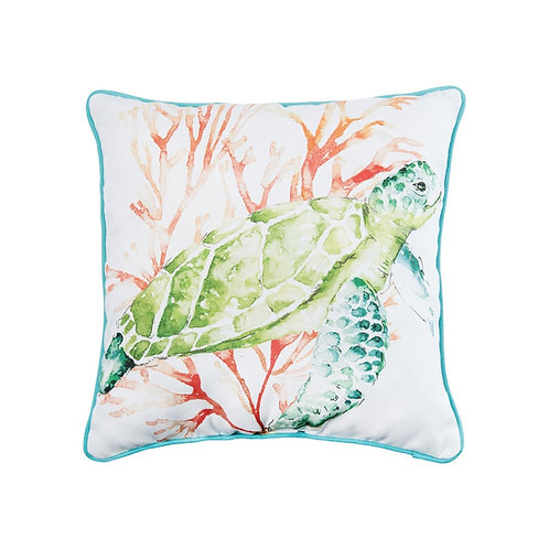 COLORFUL TURTLE PILLOW