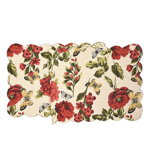 NINA QUILTED TABLE RUNNER