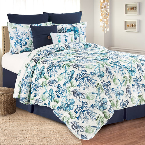 BLUE WATER BAY QUILT SET