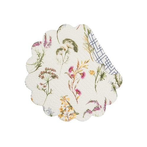 GENEVIEVE QUILTED PLACEMAT