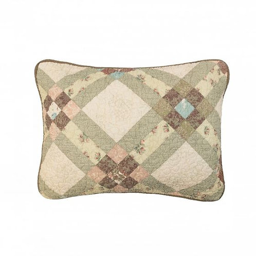AMERICAN BEAUTY QUILTED SHAM