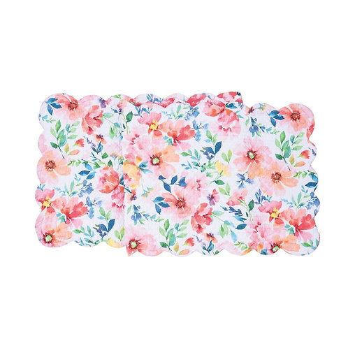 NICOLE QUILTED TABLE RUNNER