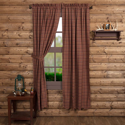 PARKER SCALLOPED PANEL CURTAIN SET OF 2 84X40