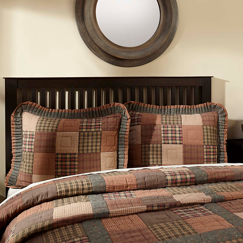 CROSSWOODS QUILTED SHAM