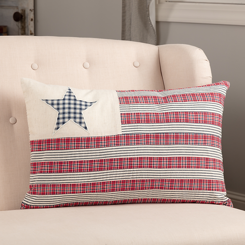 HATTERAS FLAG PILLOW