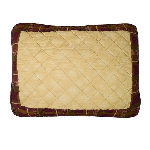 ANTLER WOODS QUILTED SHAM