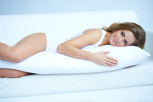 "20X60"" FIRM DENSITY MICRO DOWN BODY PILLOW"