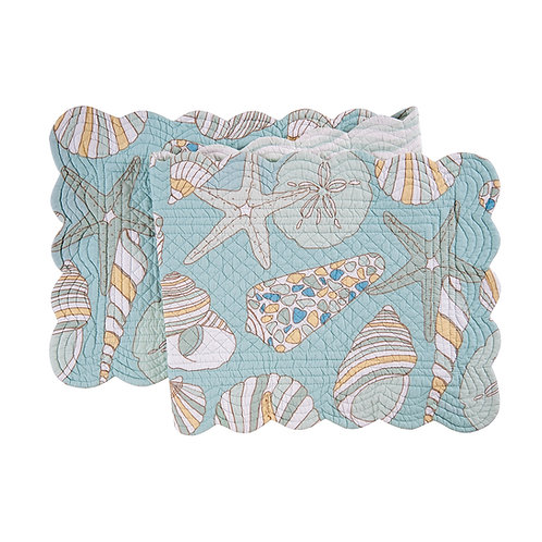CABANA BAY QUILTED TABLE RUNNER