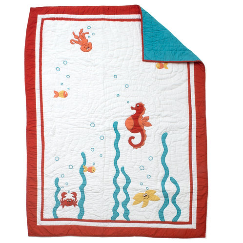 UNDER THE SEA QUILT, BABY