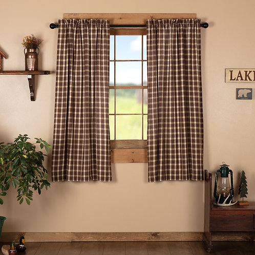 RORY SHORT PANEL CURTAIN SET OF 2 63X36