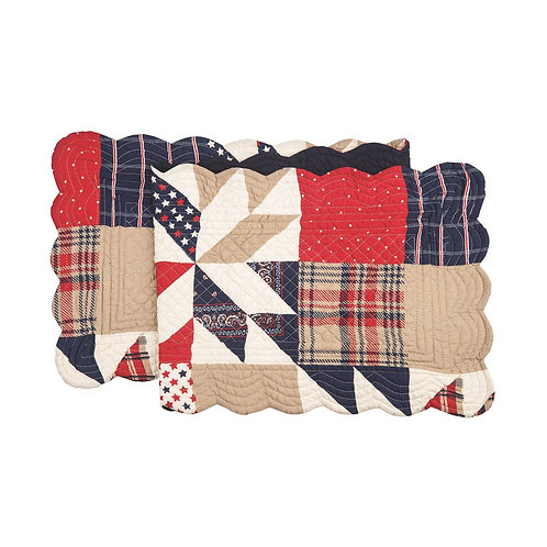 LEVI QUILTED TABLE RUNNER