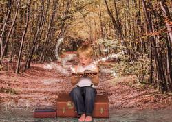 FACEBOOK book with magic