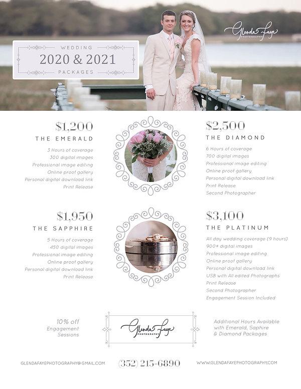 Wedding Packages 2020 . 2021.jpg