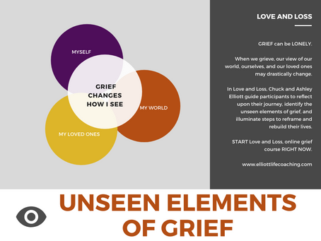 Grief Changes How I See