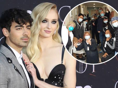 Joe Jonas and Sophie Turner donate meals