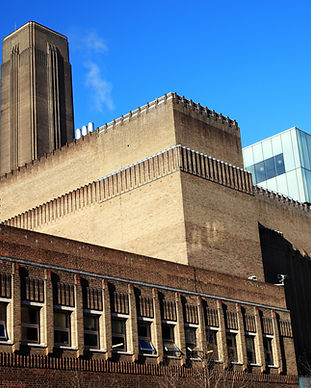 Tate Modern on the South bank of London,