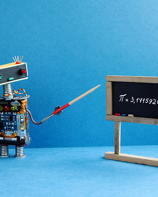 math-lesson-robot-professor-explains-pi-