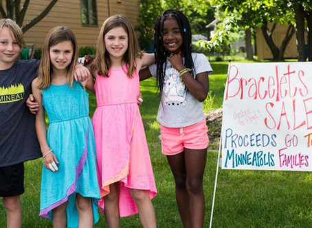 9-year-old and friends raise $100k for African-American businesses