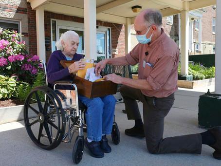 Penpals uplift seniors