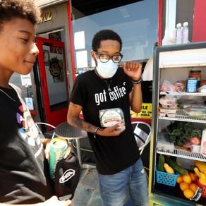 Community fridges in LA
