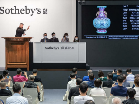 Fab vase once bought for $80 sold for $13 million
