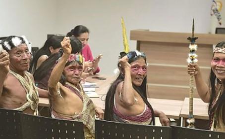Indigenous tribe wins lawsuit