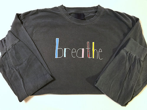 Adult LS T-Shirt | Annie Collection | Denim