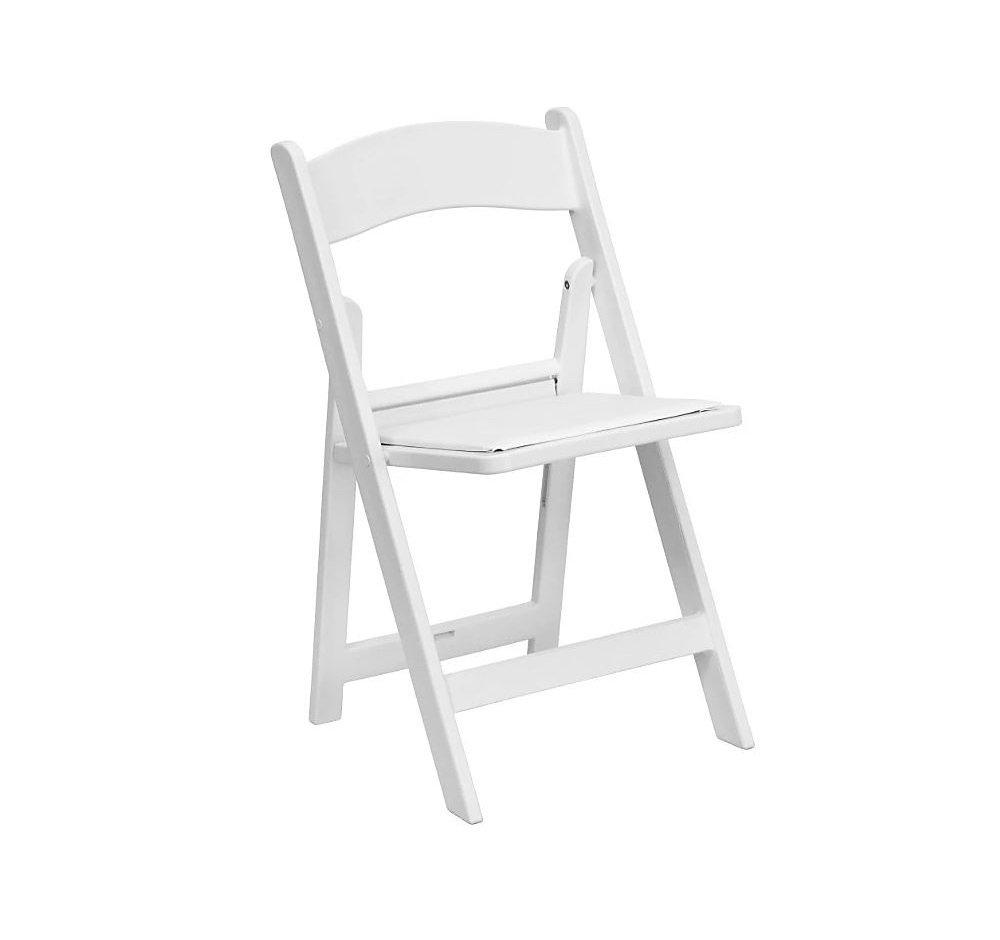 White - Resin Padded Chair