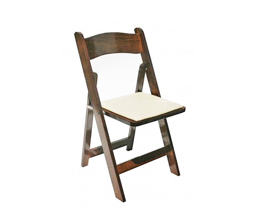 Fruitwood - Wood Padded Chair
